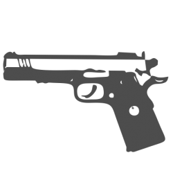 0044. 9 mm gun raw
