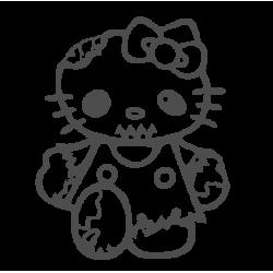 0083. Hello Kitty Zombie(китти)