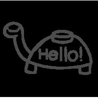 0111. Моя черепаха