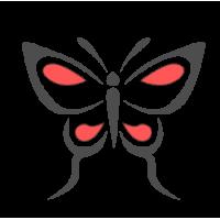 0190. Бабочка