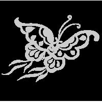 0206. Серебряная бабочка