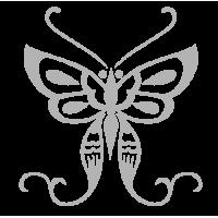 0207. Серебряная бабочка