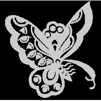0208. Серебряная бабочка