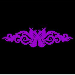 0227. Бабочка узором