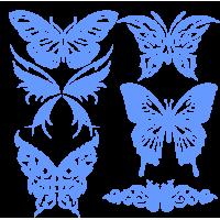 0244. Комплект Бабочек