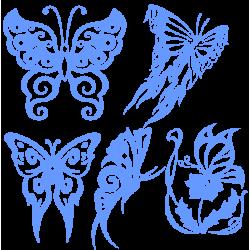 0245. Комплект Бабочек