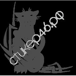 0249. Пантера готика уголком