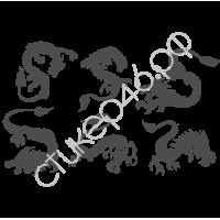 0264. Комплект Драконы