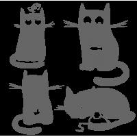 0285. Коты комплект
