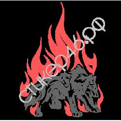 0317. Волк в огне