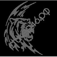 0360. Тигр уголком