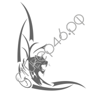 0383. Пантера уголком