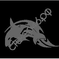 0432. Дельфин готикой