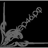 0433. Дельфин готика уголком