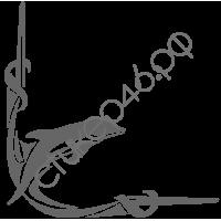 0434. Дельфин уголком
