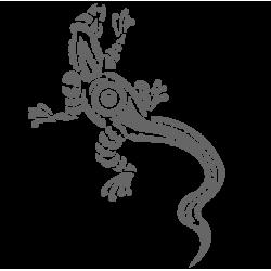 0454. Ящерица