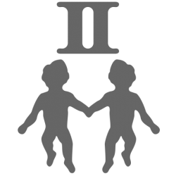 0560. Знак зодиака близнецы