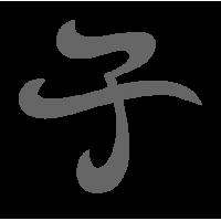 0618. Иероглиф ребёнок