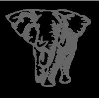 """0666. Наклейка """"Слон"""""""