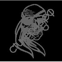 0698. Череп пират