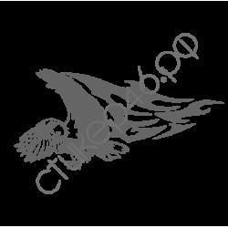 0774. Орёл огненный