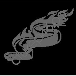0793. Змея огненная