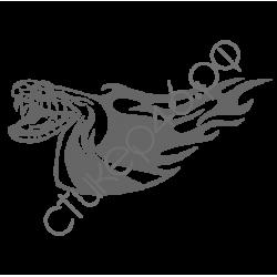0795. Змея огненная