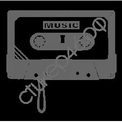 0943. Кассета музыка