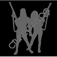 0958. Девушки с оружием