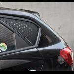 Полоски солнцезащитные на лобовое стекло  автомобиля 25 см х 140 см