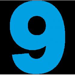 1183. Самоклеющаяся цифра 9