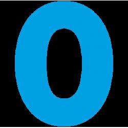 1184. Самоклеющаяся цифра 0
