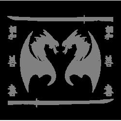 """1356. Наклейка """"Японские Драконы"""""""