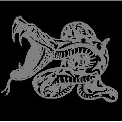 """1361. Наклейка """"Змея"""""""