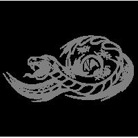 """1362. Наклейка """"Змея"""""""
