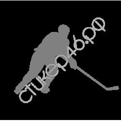 "1380. Наклейка ""Хоккеист"""