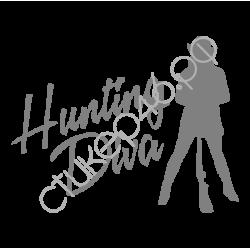 """1391. Наклейка """"Hunting Diva"""""""