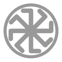 1417. Наклейка Славянский оберег Колядник