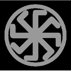 1418. Наклейка Славянский оберег Крест Лады-Богородицы