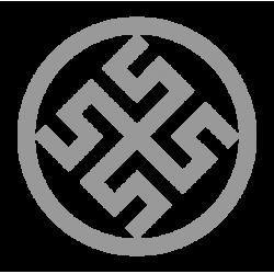 1424. Наклейка Славянский оберег Боговник