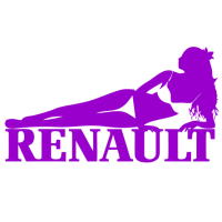 """1437. Наклейка """"Renault Sexy"""""""