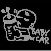 """1442. Наклейка """"Ребёнок в машине"""""""
