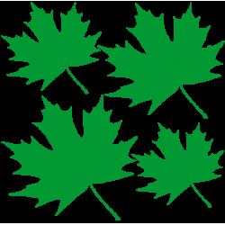 """1448. Наклейка """"Кленовые листья"""""""