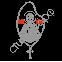 """1455. Наклейка """"Святая Блаженная Матрона Московская"""""""