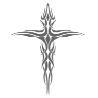 "1503. Наклейка ""Крест"""