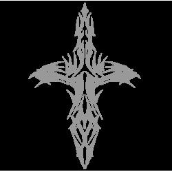 "1504. Наклейка ""Крест"""