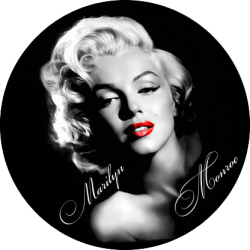 1544. Наклейка Мэрилин Монро (Marilyn Monroe)