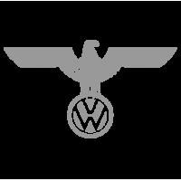 """1560. Наклейка """" Логотип Volkswagen с орлом"""""""