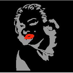 1564. Наклейка Мэрилин Монро (Marilyn Monroe)