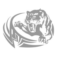 "1566. Наклейка ""Тигр тату"""
